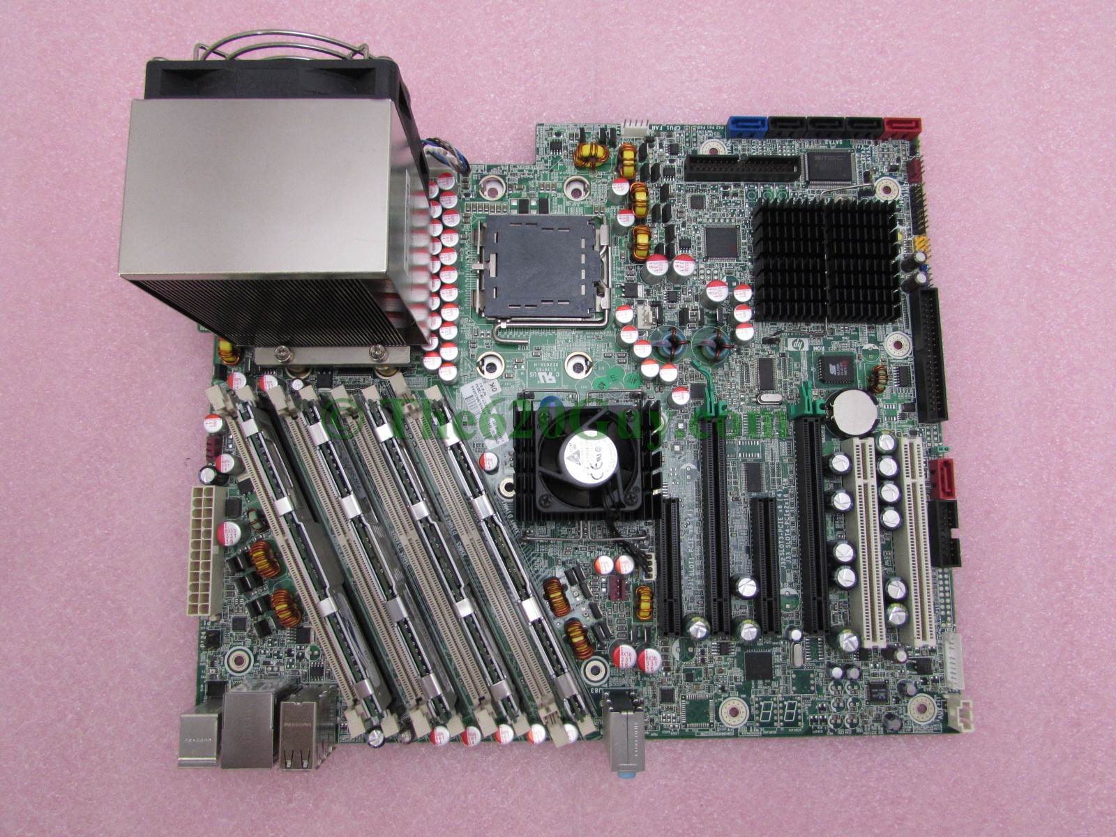 Xw6600 ram slots