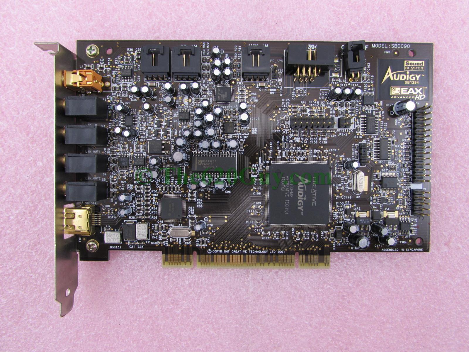 Sound blaster audigy 1394
