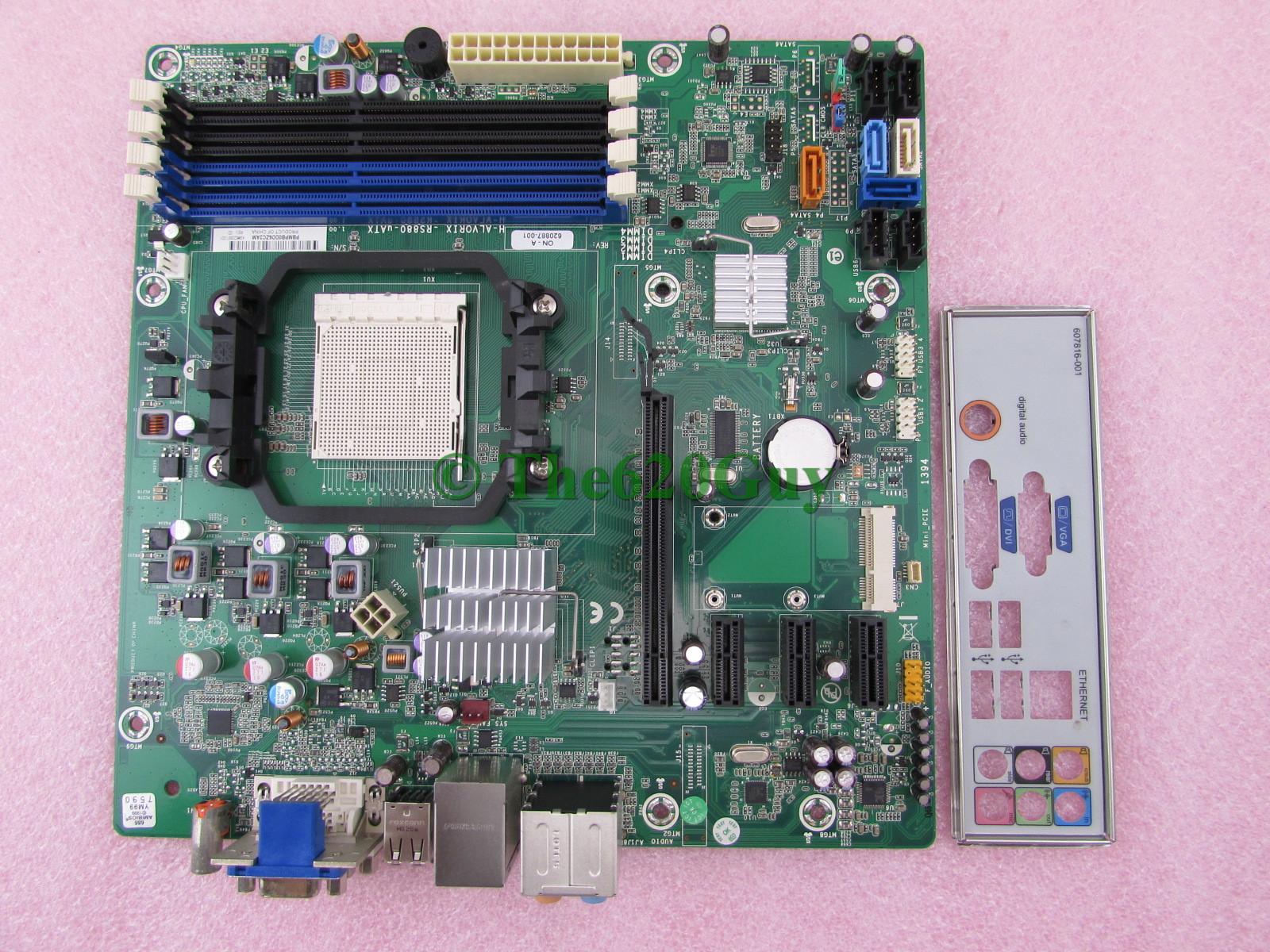 H alvorix rs880 uatx motherboard