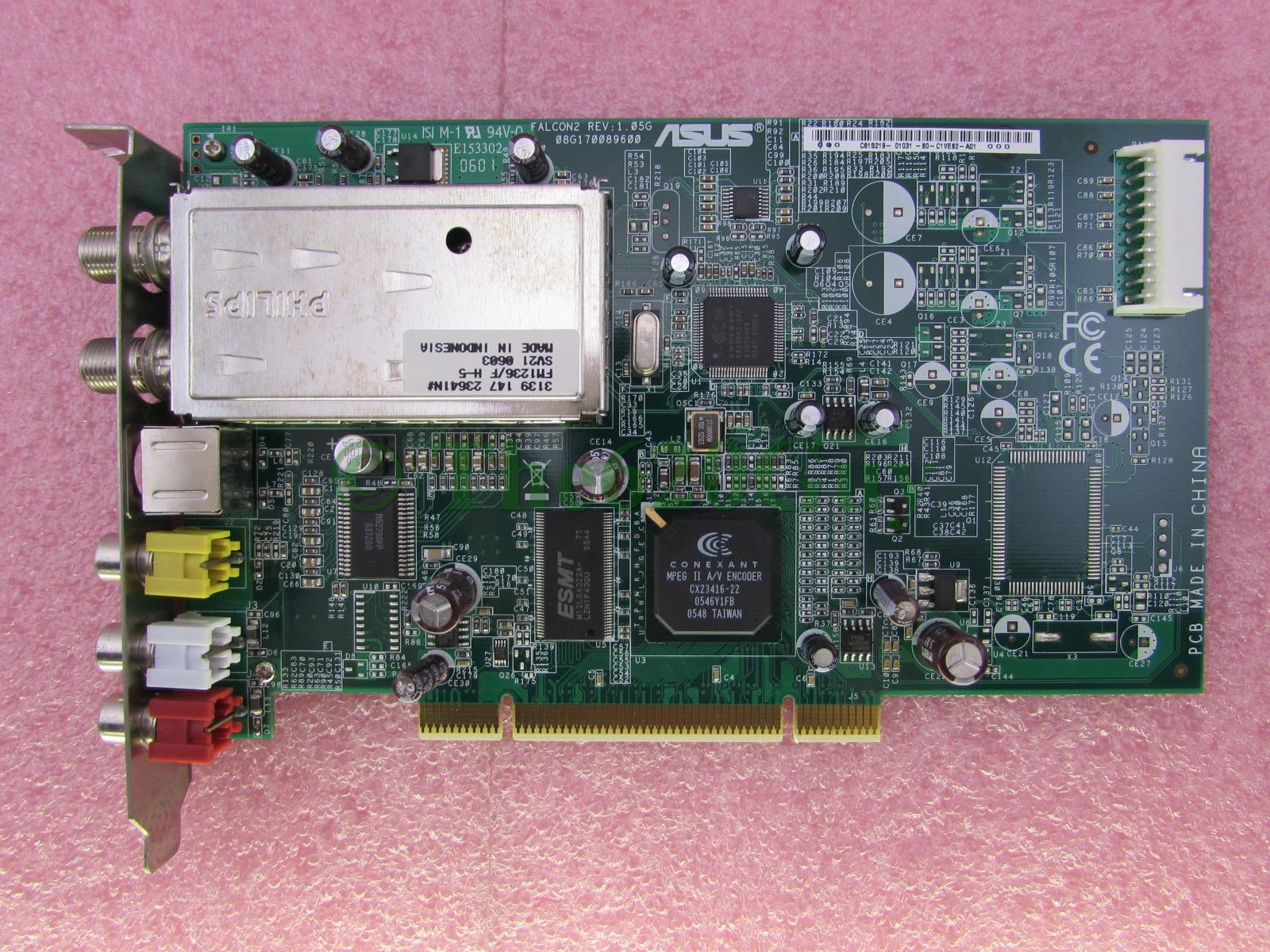 Conexant Falcon II NTSC Video Capture - driver scan FOUND