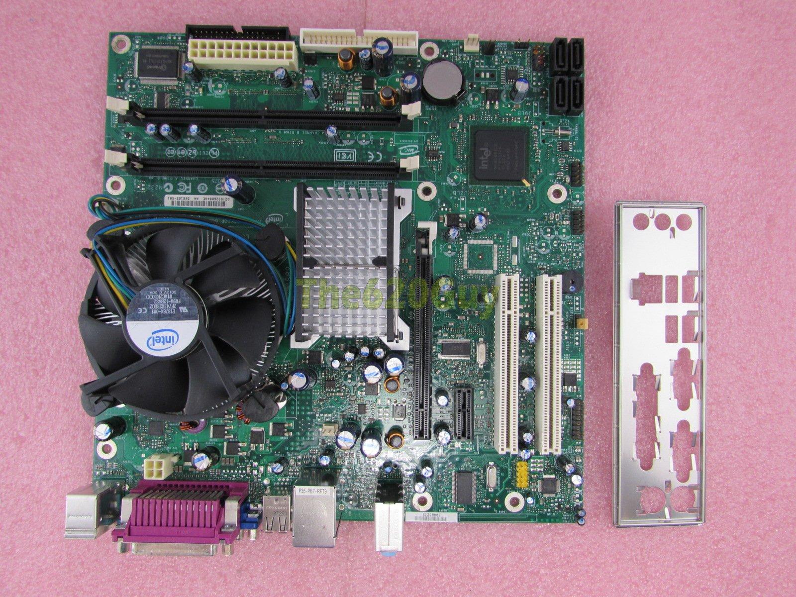 Intel 946 GZIS original motherboard Lan Problem
