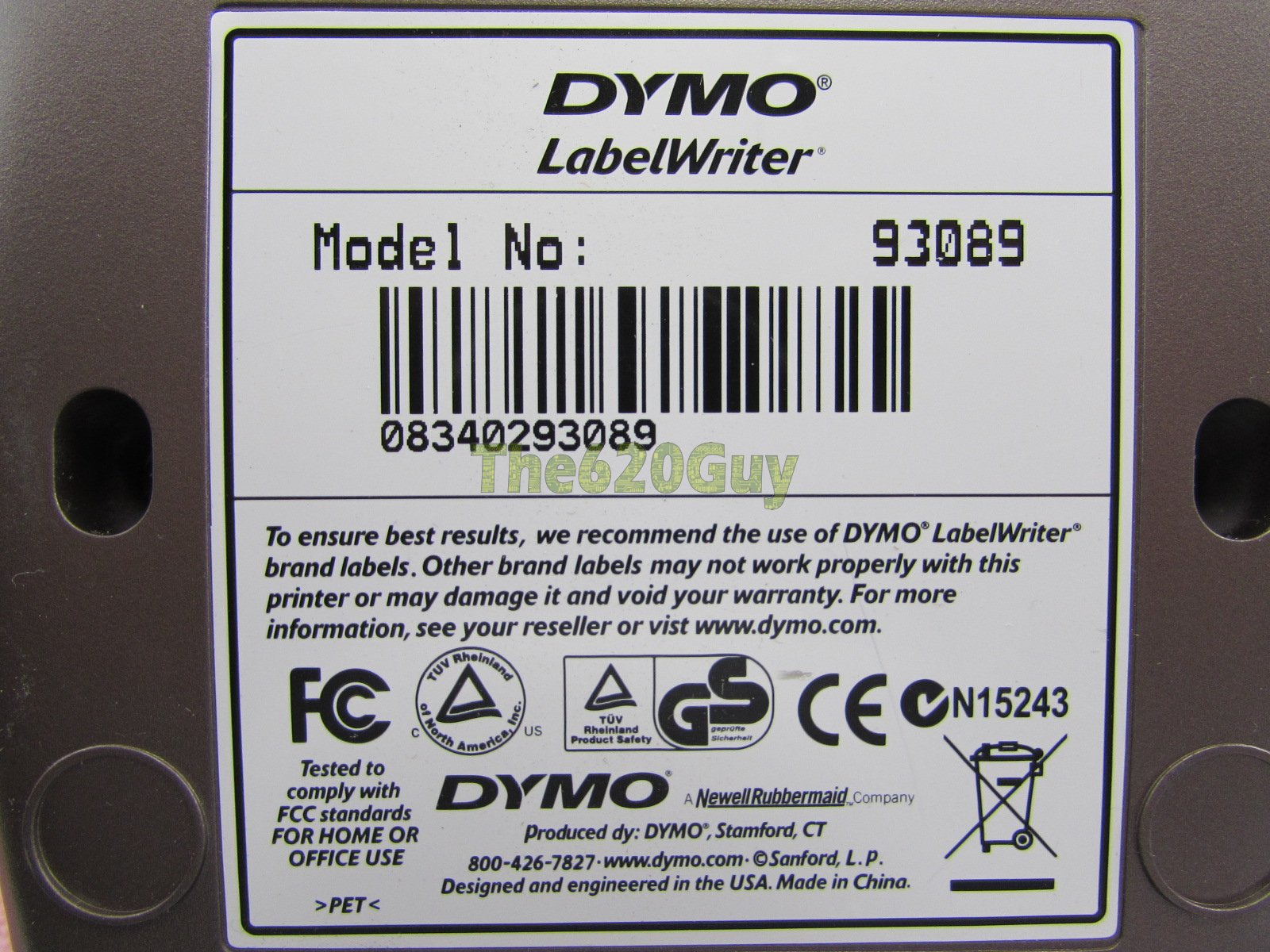 Dymo labelwriter 400 label writer printer pc mac 93089 for Dymo labelwriter 400 labels