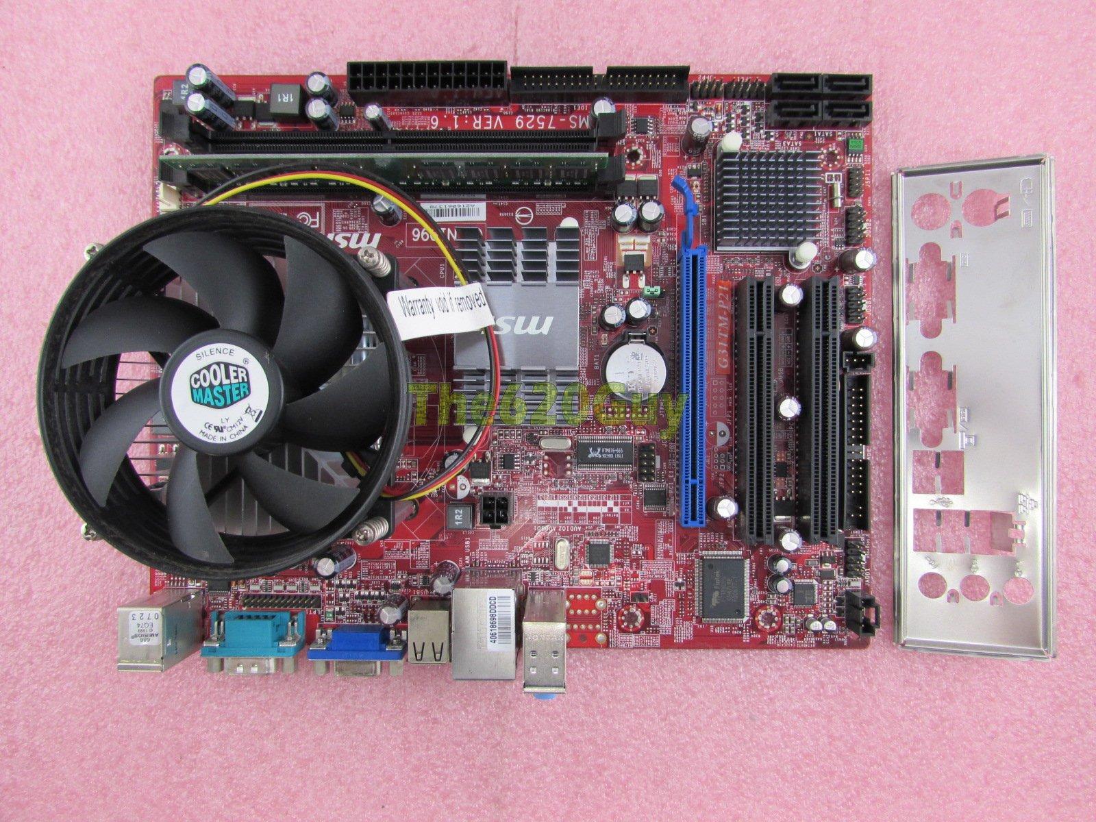 msi ms 7529 motherboard manual