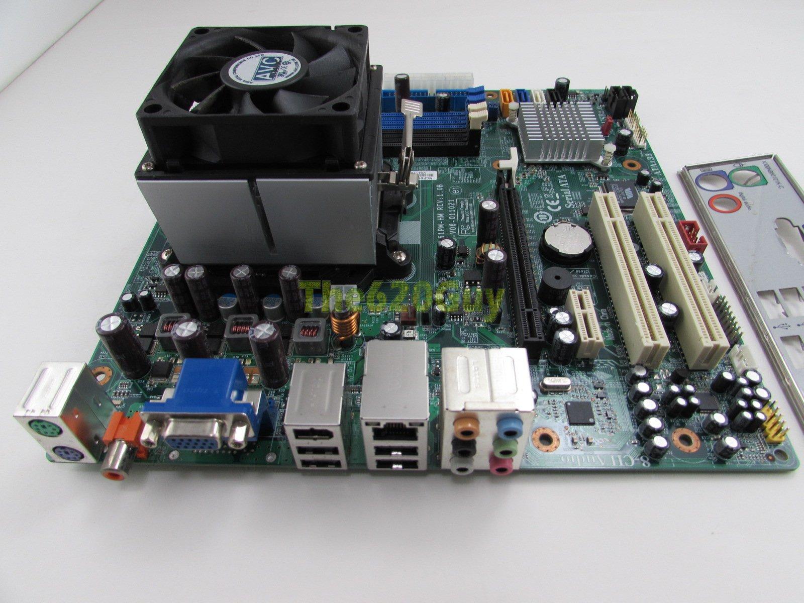 Ecs Hp Mcp61pm-hm Nettle2-gl8e 6150se Am2 Motherboard Manual - sevenvote