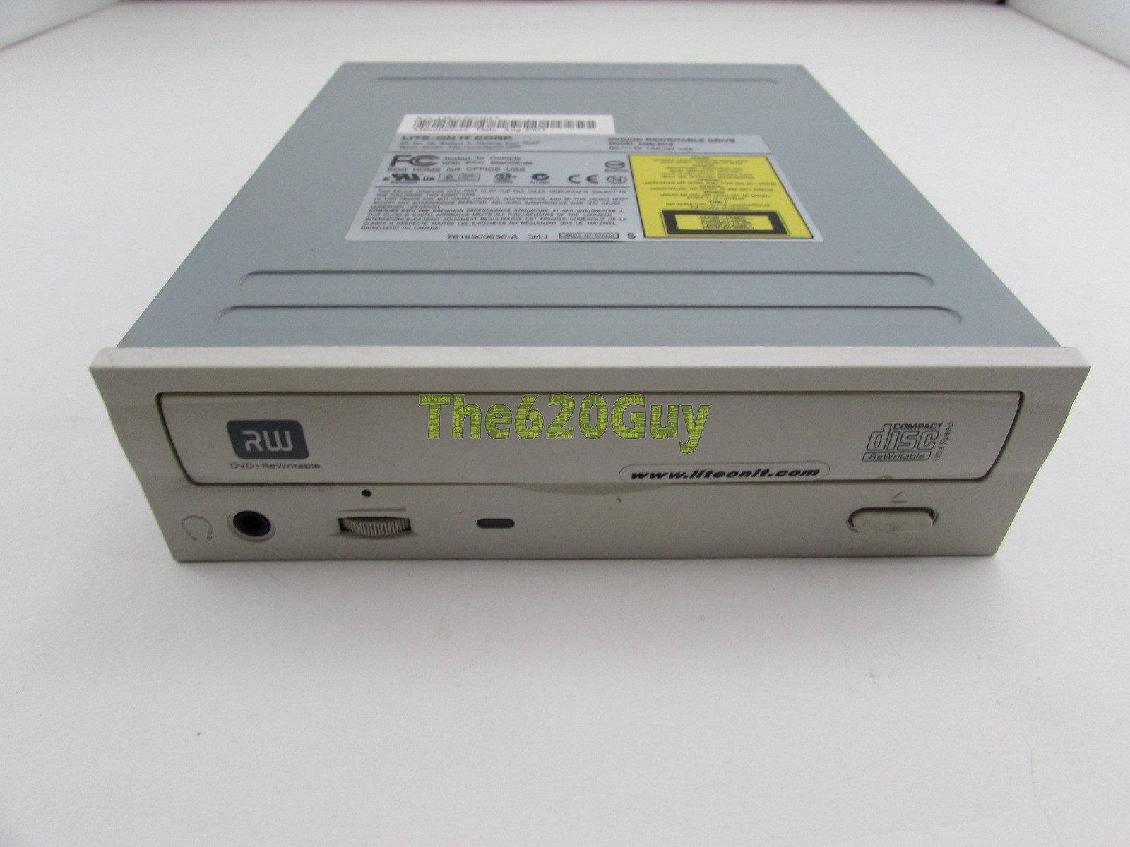 LITE-ON DVD RW LDW-401S - driver software