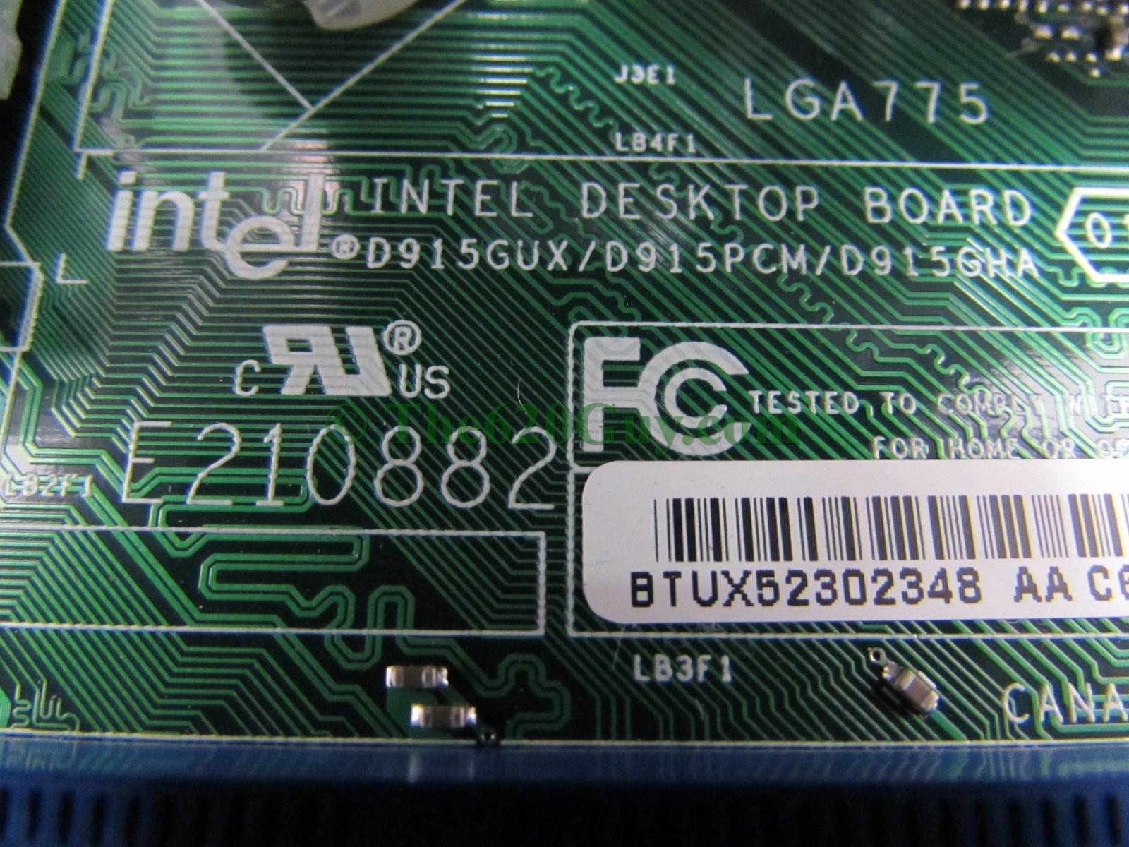 D915glvg motherboard