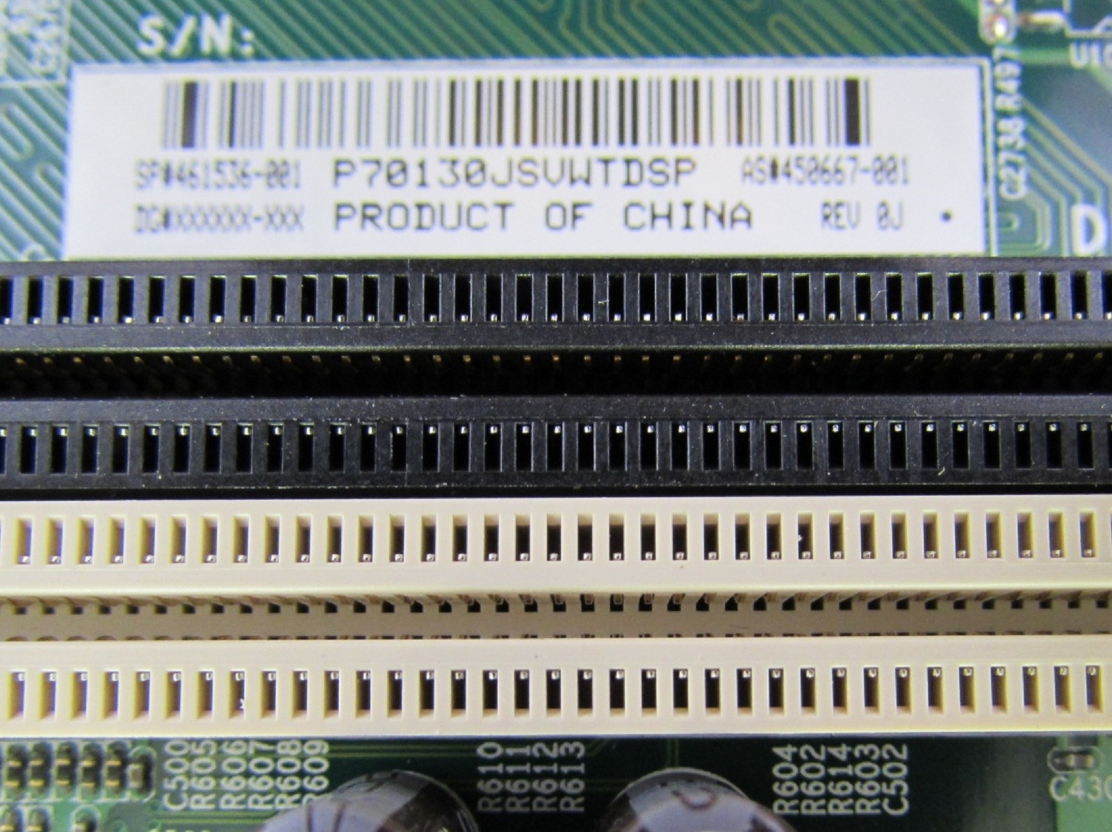 Hp dc5800 pci slots