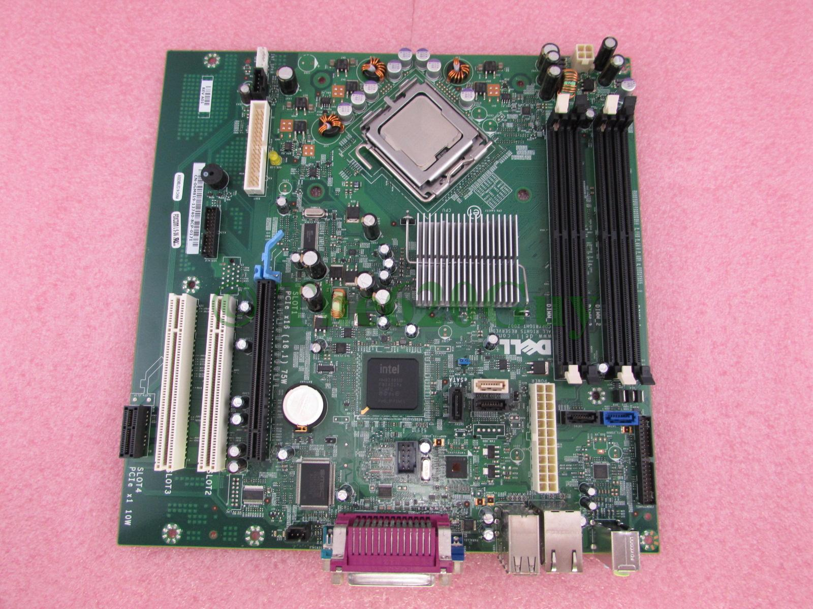 Details about Dell Optiplex 775 MT Motherboard GM819 + Intel Core 2 Duo  E8400 3GHz CPU JR271