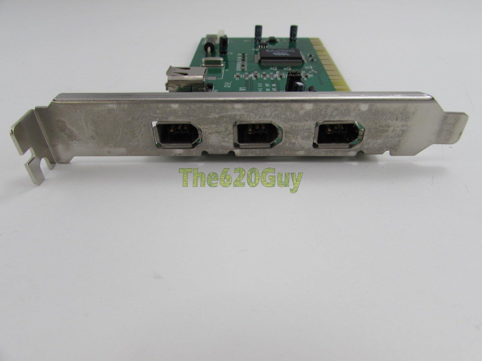 Sansun EUR-0811 V1 PCI to 4 Ports IEEE 1394 Firewire Controller ...
