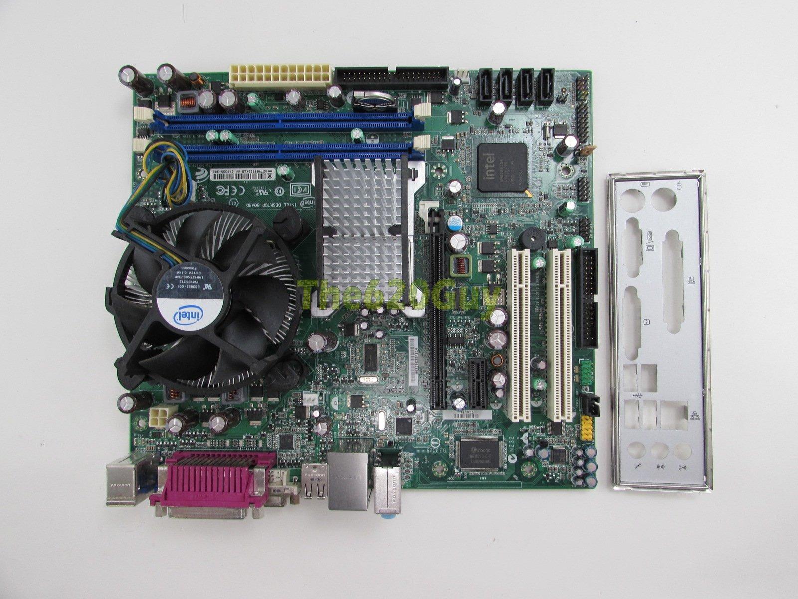 Intel Dg41ty G41 Motherboard Matx   Core 2 Duo E8400 3ghz