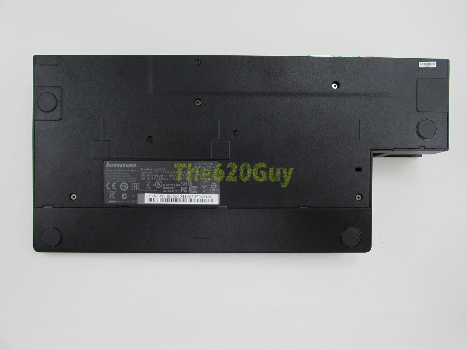 Details about Lenovo ThinkPad Ultra Dock 04W3956 X250 T440s T450s T450p  T460s T470s P50s P51s