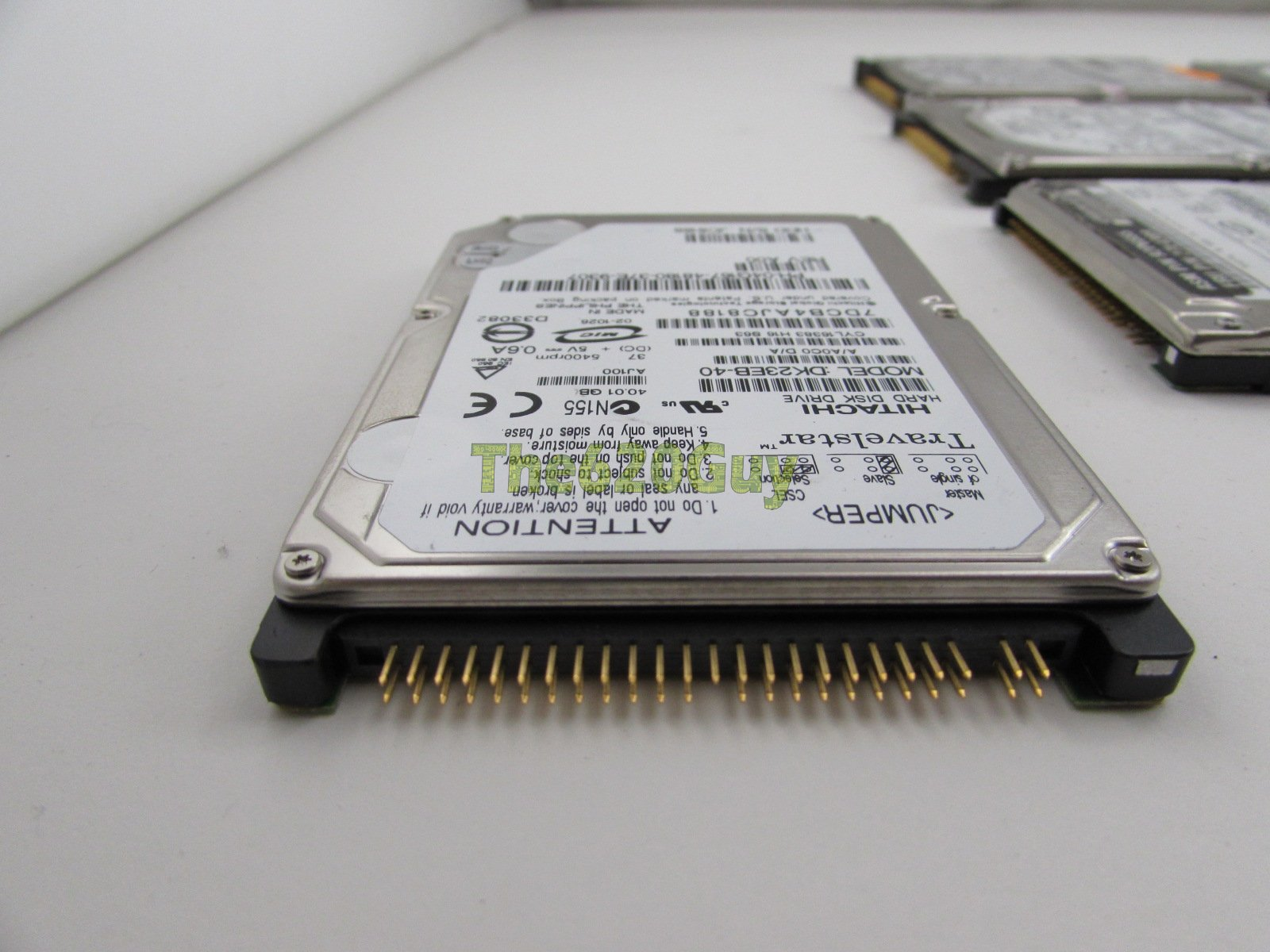 Lot of 9 Mix 40GB 5400 RPM 2MB 2.5 inch IDE ATA Laptop ...