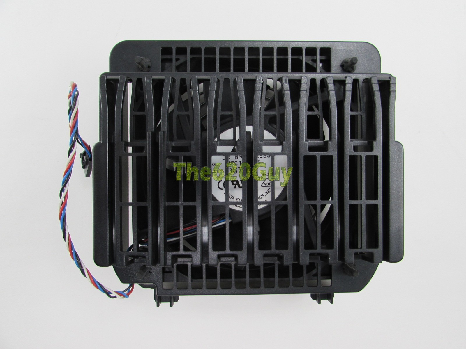 Dell KC257 0KC257 120mm Cooling Fan w/ Cage Assembly For Precision ...