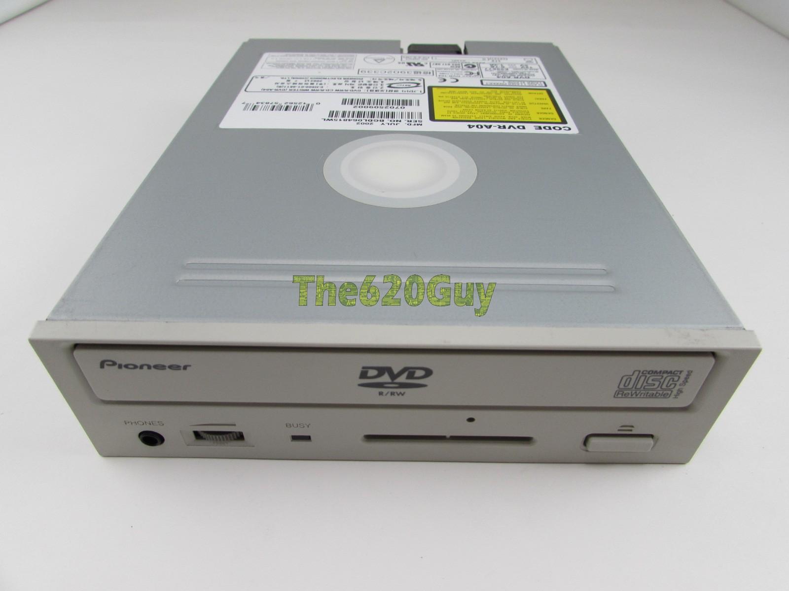 Pioneer DVR-109XLA1 DVD-R/RW Treiber