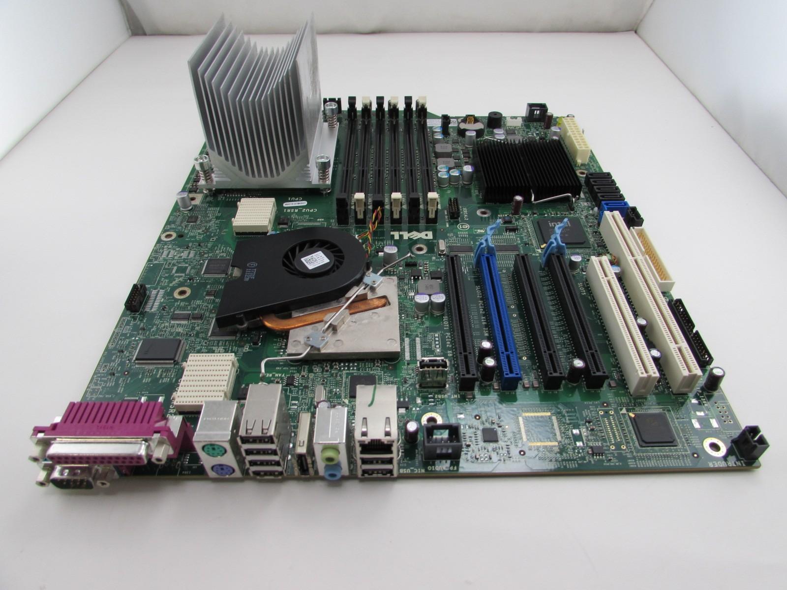Dell Precision T5500 Motherboard CRH6C + Xeon E5620 2 4GHz