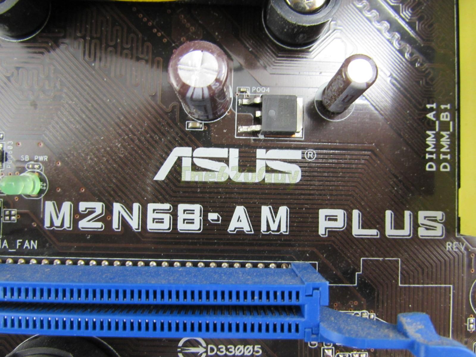 Asus M2N68-AM Plus REV 3.01G Motherboard + AMD Sempron 140 ...