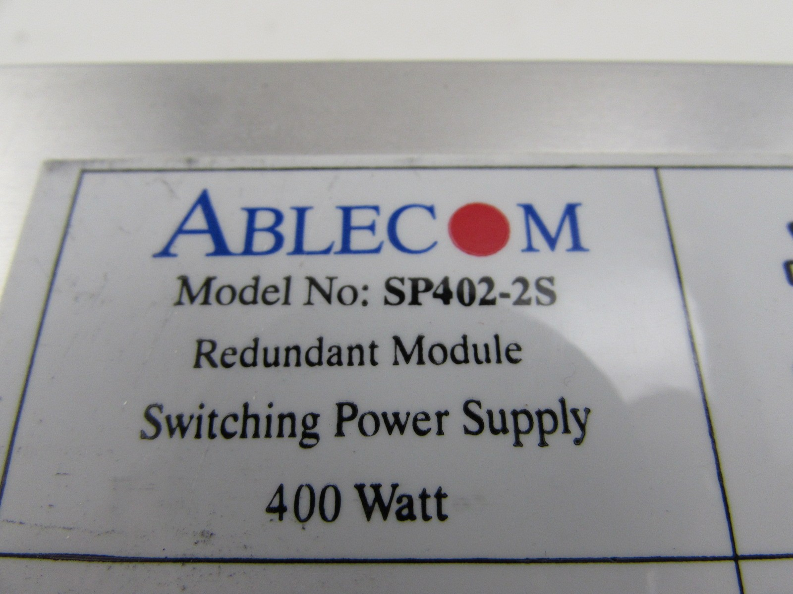 Lot Of 2 Ablecom Sp402 2s 400w 400 Watts Server Redundant Switching Watt Power Supply Shipping We Ship Daily Monday Friday Same Day Cut Off Time Is 330pm Pst