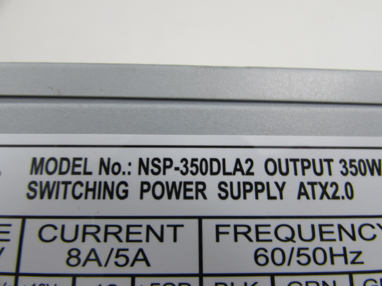 Details about NSprire NSP-350DLA2 350W 350 Watts 24-Pin ATX 12V Switching  Power Supply PSU