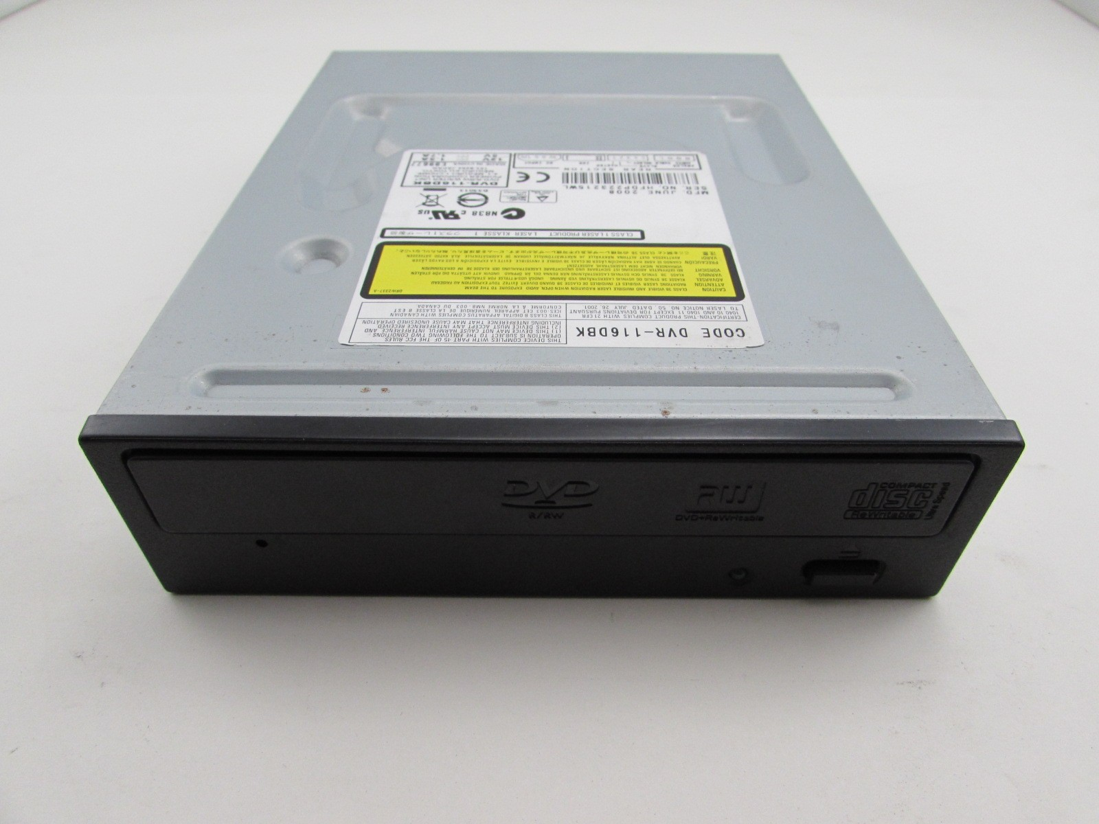 Pioneer DVR-116 DVD-RW Drivers for Windows XP
